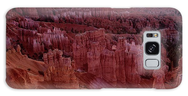 Sunrise Over The Hoodoos Bryce Canyon National Park Galaxy Case