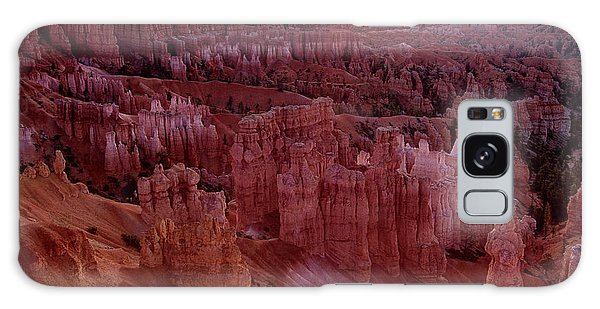 Sunrise Over The Hoodoos Bryce Canyon National Park Galaxy Case by Dave Welling