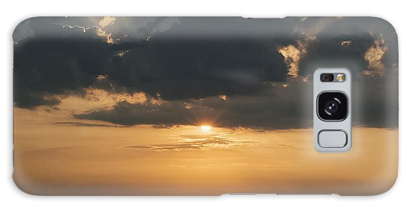 Sunrise Over The Isle Of Wight Galaxy Case