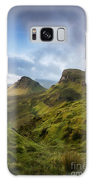 Sunrise Over The Trotternish Ridge Galaxy Case
