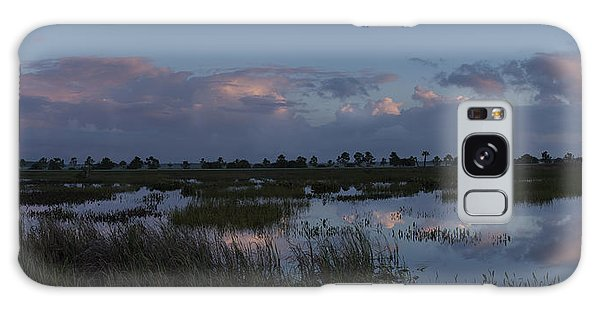 Sunrise Over The Wetlands Galaxy Case