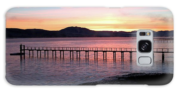 Sunrise Over Tomales Bay Galaxy Case