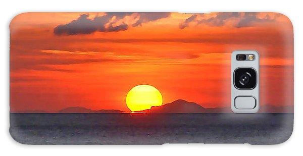 Sunrise Over Western Cuba Galaxy Case