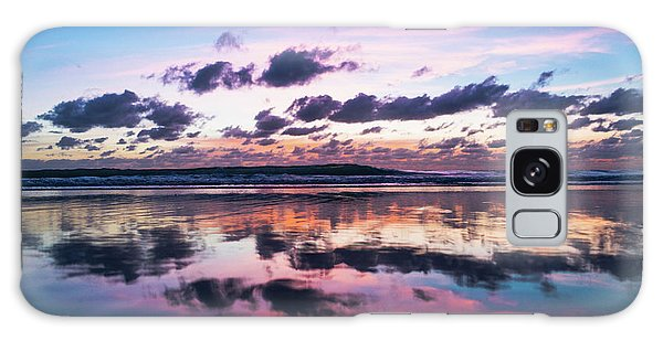 Sunrise Pink Wisps Delray Beach Florida Galaxy Case