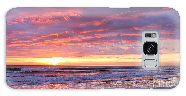 Sunrise Pinks Galaxy Case by LeeAnn Kendall