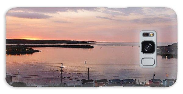 Sunrise Port Aux Basque, Newfoundland  Galaxy Case