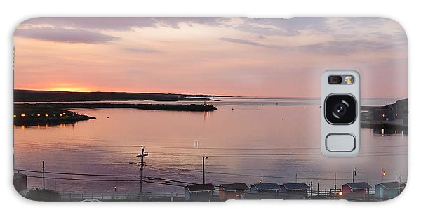 Sunrise Port Aux Basque, Newfoundland  Galaxy Case
