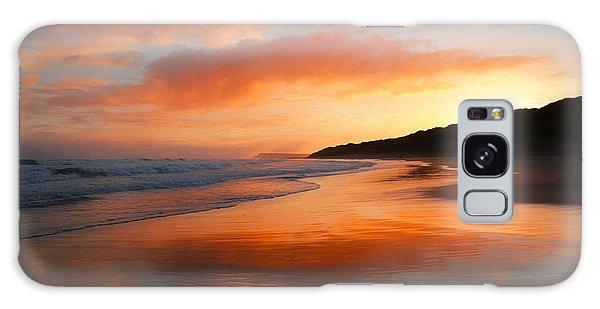 Sunrise Reflection Galaxy Case by Roy McPeak
