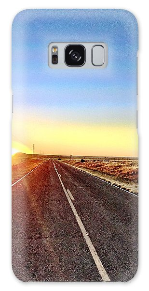 Sunrise Road Galaxy Case