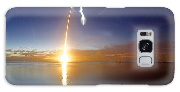 Sunrise Rocket Galaxy Case