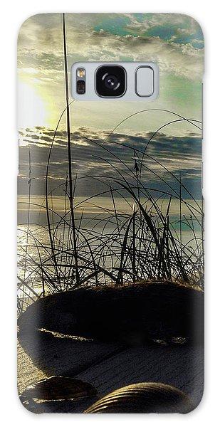 Sunrise Sea Shells Galaxy Case by Josy Cue