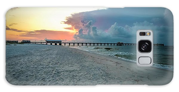 Sunrise Seascape Gulf Shores Al Pier 064a Galaxy Case
