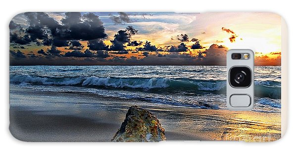 Sunrise Seascape Wisdom Beach Florida C3 Galaxy Case