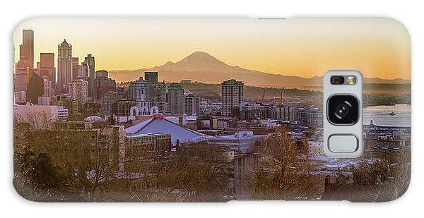 Seattle Sunrise Galaxy Case