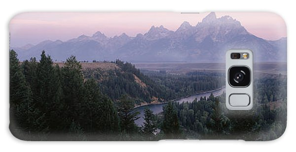 Grass Snake Galaxy Case - Sunrise Snake River Overlook Grand by Panoramic Images