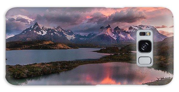 Sunrise Spectacular At Torres Del Paine. Galaxy Case