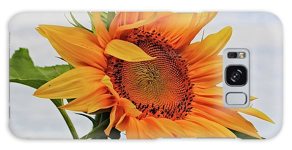 Sunrise Sunflower Galaxy Case by Kathleen Sartoris