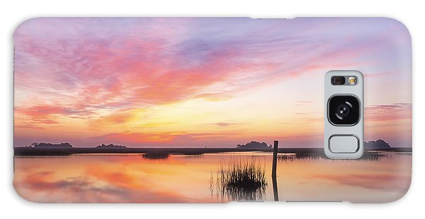 Sunrise Sunset Art Photo - I Belong Galaxy Case