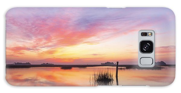 Sunrise Sunset Art Photo - I Belong Galaxy Case