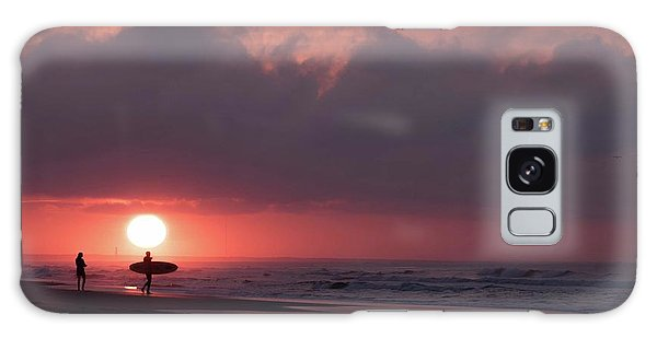 Sunrise Surfer Galaxy Case