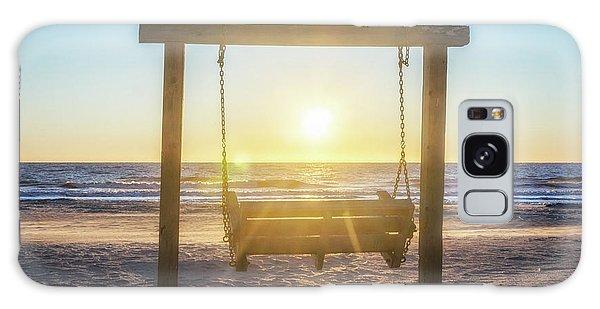 Sunrise Swings Galaxy Case
