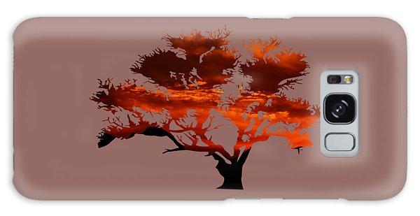 Sunrise Tree 2 Galaxy Case