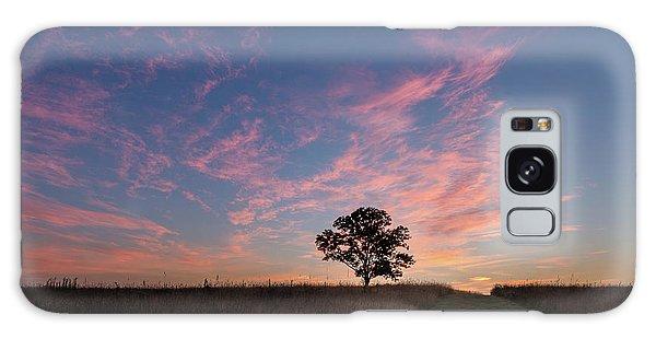 Sunrise Galaxy Case - Sunrise Tree 2016 Square by Bill Wakeley