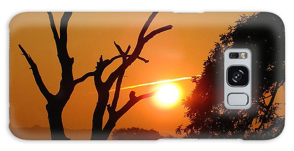 Sunrise Trees Galaxy Case