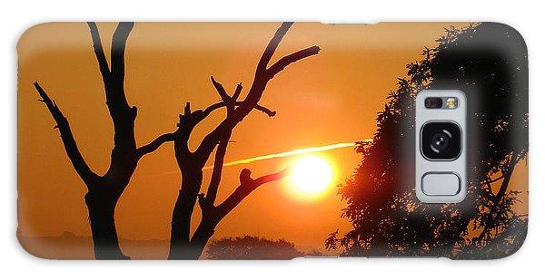 Sunrise Trees Galaxy Case