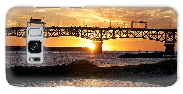 Sunrise Under Coleman Bridge Galaxy Case