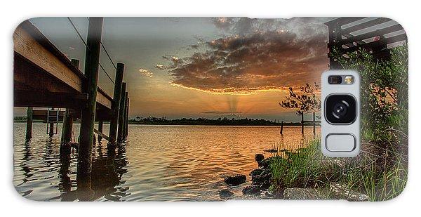 Sunrise Under The Dock Galaxy Case