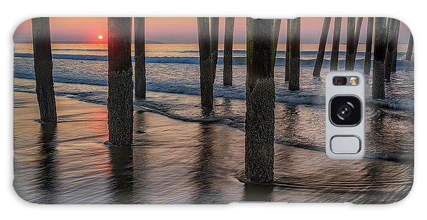 Galaxy Case featuring the photograph Sunrise Under The Pier by Rick Berk