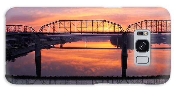 Sunrise Walnut Street Bridge 2 Galaxy Case