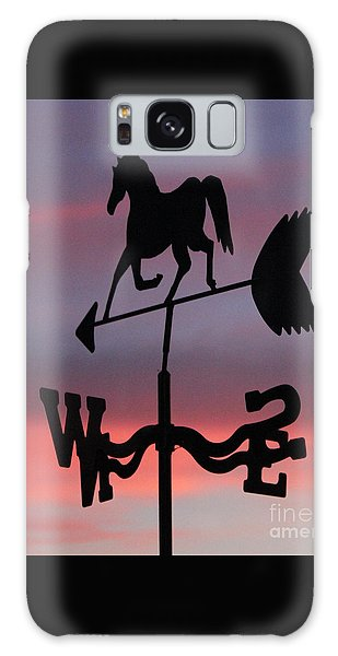 Sunrise Weathervane Galaxy Case