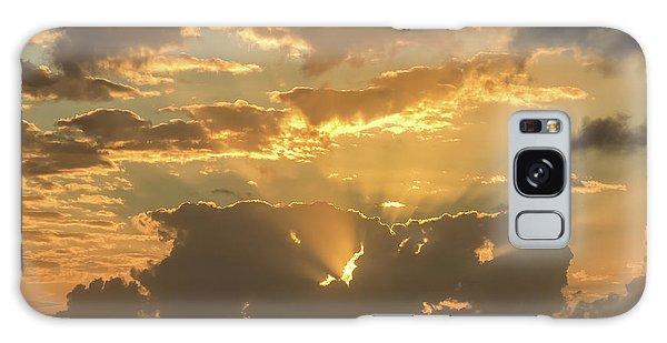 Sun's Rays Galaxy Case