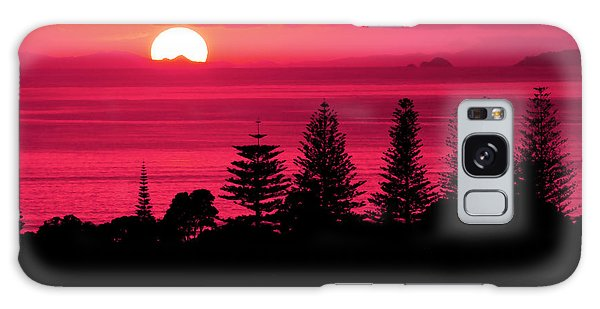 Suns Up Galaxy Case by Karen Lewis