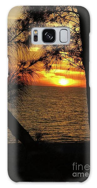 Galaxy Case - Sunset 1 by Megan Cohen