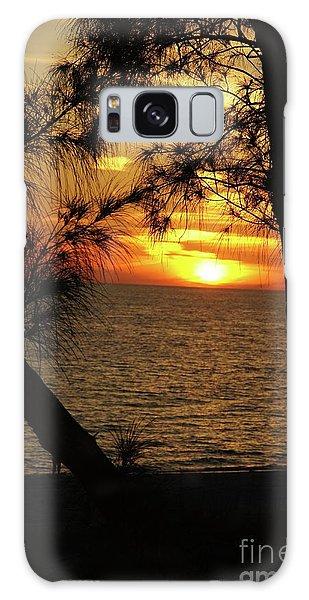 Galaxy Case - Sunset 1 by Megan Cohen