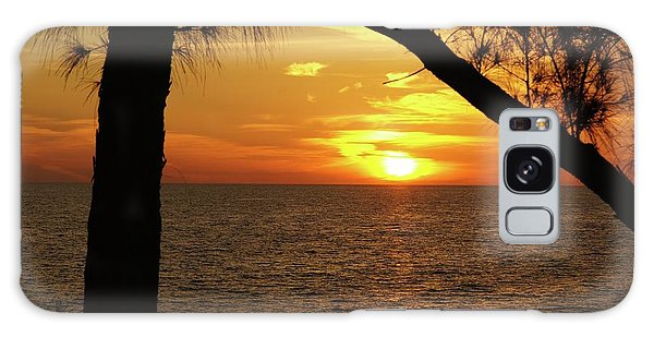 Sunset 2 Galaxy Case by Megan Cohen