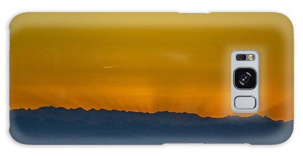 Sunset 3 Galaxy Case