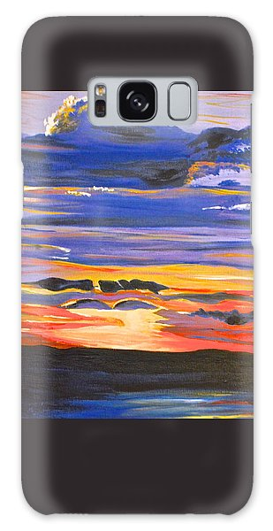Sunset #5 Galaxy Case by Donna Blossom