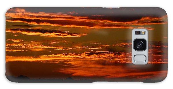 Sunset 5 Galaxy Case