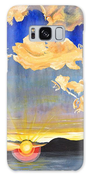 Sunset #6 Galaxy Case by Donna Blossom