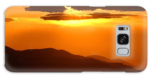 Sunset Along Colorado Foothills Galaxy Case by Max Allen