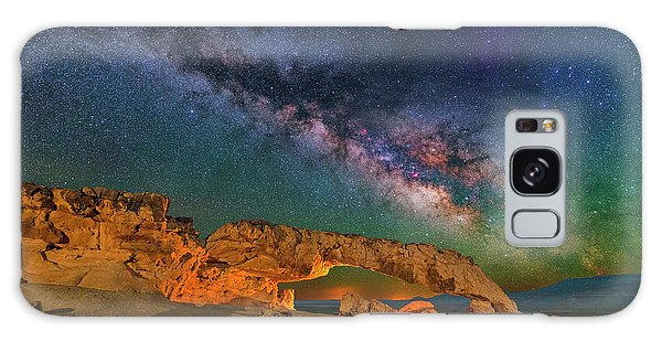 Sunset Arch Galaxy Case