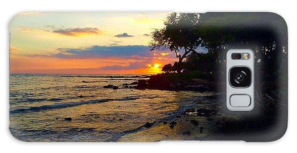 Sunset At A-bay Galaxy Case