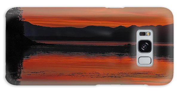 Sunset At Brothers Islands Galaxy Case