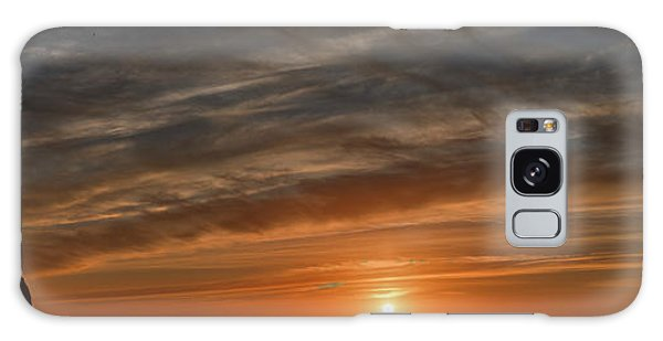 Sunset At Cape Kiwanda Galaxy Case