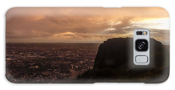 Sunset At Cavehill Galaxy Case