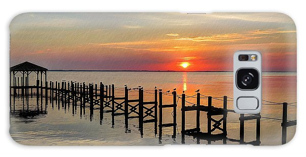 Sunset At Duck Obx Galaxy Case